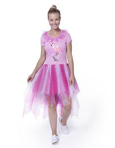 Damen Flamingo Kostüm