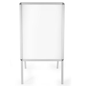 A1 Plakatständer Aluminium, doppelseitig, inkl. 2 Folien