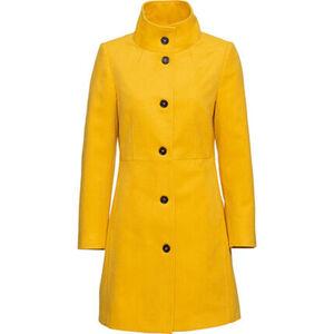 manguun collection Mantel, geknöpft, taillierte Passform, für Damen