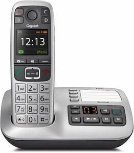 E560 A Schnurlostelefon mit Anrufbeantworter platin