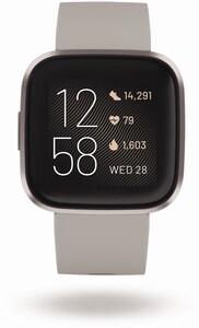 Versa 2 Smartwatch stone/mist grey