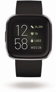 Versa 2 Smartwatch schwarz/carbon
