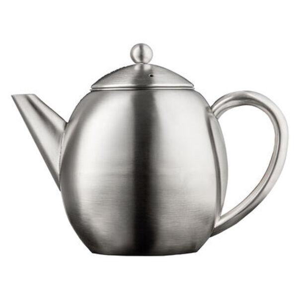 Leopold Vienna Teekanne London doppelwandig, matt, 1,2 l