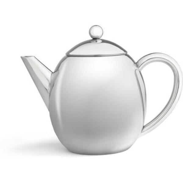 Leopold Vienna Teekanne London doppelwandig, poliert, 1,2 l
