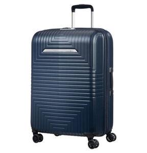 Samsonite 4-Rollen Trolley Gateway, 68 cm, mattblau, dunkelblau