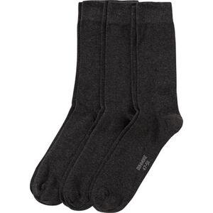 Dunmore Socken, 3er-Pack, Rippbündchen, für Herren