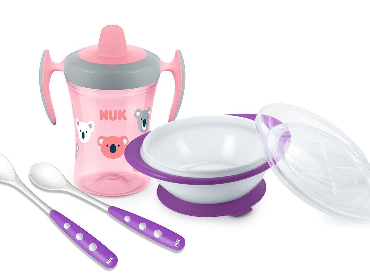 Bild 3 von NUK NUK Flaschenwärmer Thermo Express 3 in 1 und Esslern-Set rosa