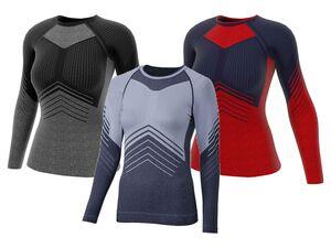 CRIVIT®PRO Damen Seamless-Ski-Funktionsunterhemd