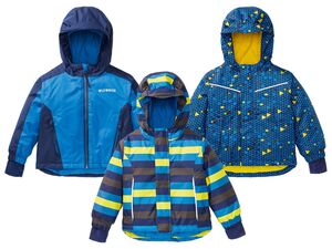 LUPILU® Schneejacke Jungen, mit Reflektoren, Kapuze, versiegelte Nähte, wasserabweisend