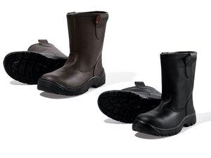 POWERFIX® Sicherheitsstiefel, Sicherheitsklasse S3, mit Winterfutter, Stahlkappe, aus Leder