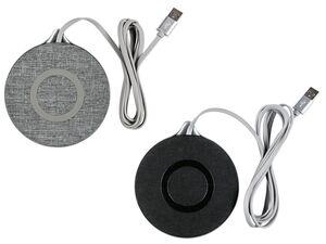 SILVERCREST® QI kabelloser Ladeadapter mit Textilbezug