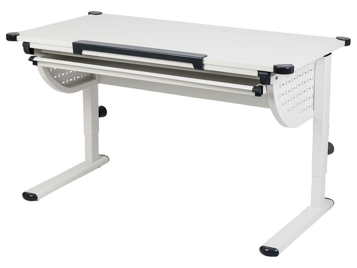 Bild 1 von LIVARNO LIVING® Kinderschreibtisch, ergonomisch, praktisches Lineal, Ecken mit Schutzkappen
