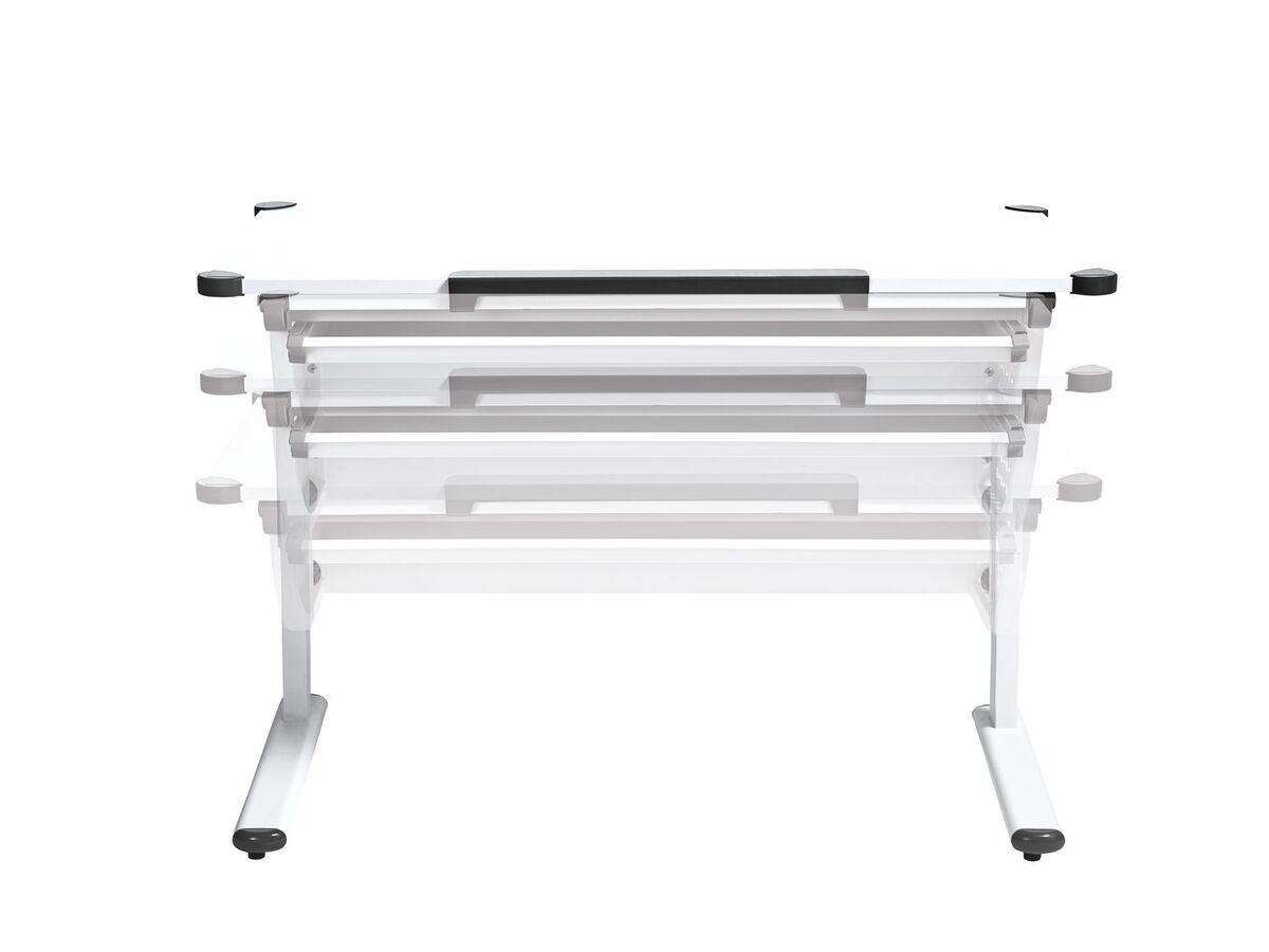 Bild 5 von LIVARNO LIVING® Kinderschreibtisch, ergonomisch, praktisches Lineal, Ecken mit Schutzkappen