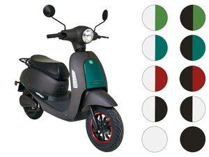 GreenStreet Elektro-Roller »SEED«, mit Lithium-Ionen-Akku, Eco-Modus, 50-80 km Reichweite