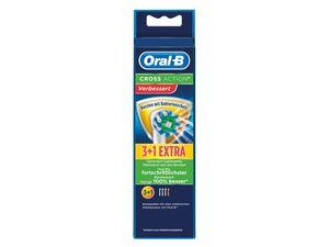 Oral-B Aufsteckbürsten Cross Action 3 + 1 Stück