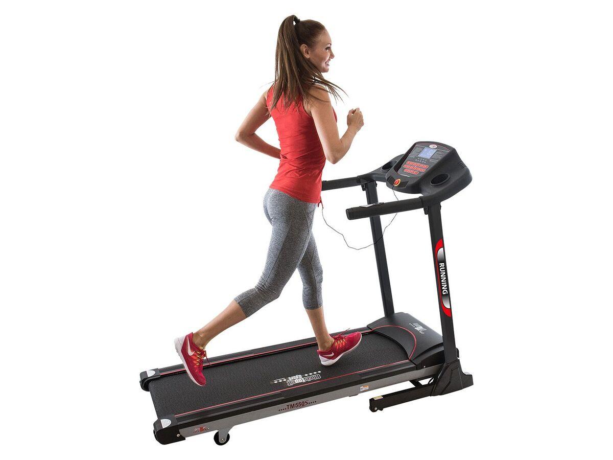 Bild 4 von Christopeit Laufband »TM 550 S«, mit Herzfrequenzmessung, 9 Trainingsprogramme