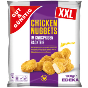 Gut & Günstig Chicken Nuggets XXL