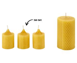 LIVING ART Bienenwachskerzen