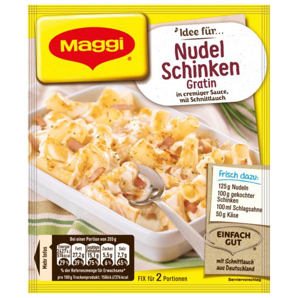 hähnchen mozzarella auflauf maggi