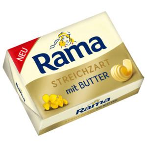 Rama Brotaufstrich Steichzart mit Butter