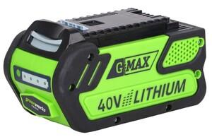 """Greenworks 40 V Li-Ion Akku """"4 Ah, LED-Ladestandsanzeige, Gartengeräte und Werkzeuge"""""""
