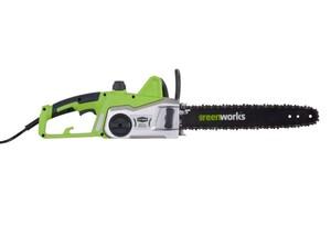 """Greenworks Elektro-Kettensäge 1800 W """"Schwertlänge 40 cm, elektronische Kettenbremse"""""""