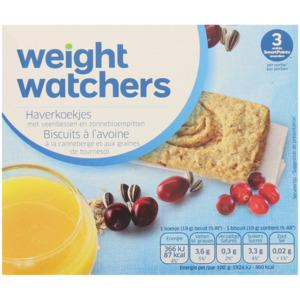 Weight Watchers Haferkekse