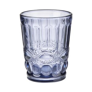 6x Trinkglas 240 ml dunkelblau
