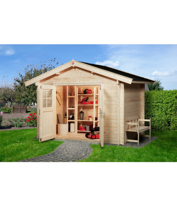 Weka Gartenhaus Premium 45