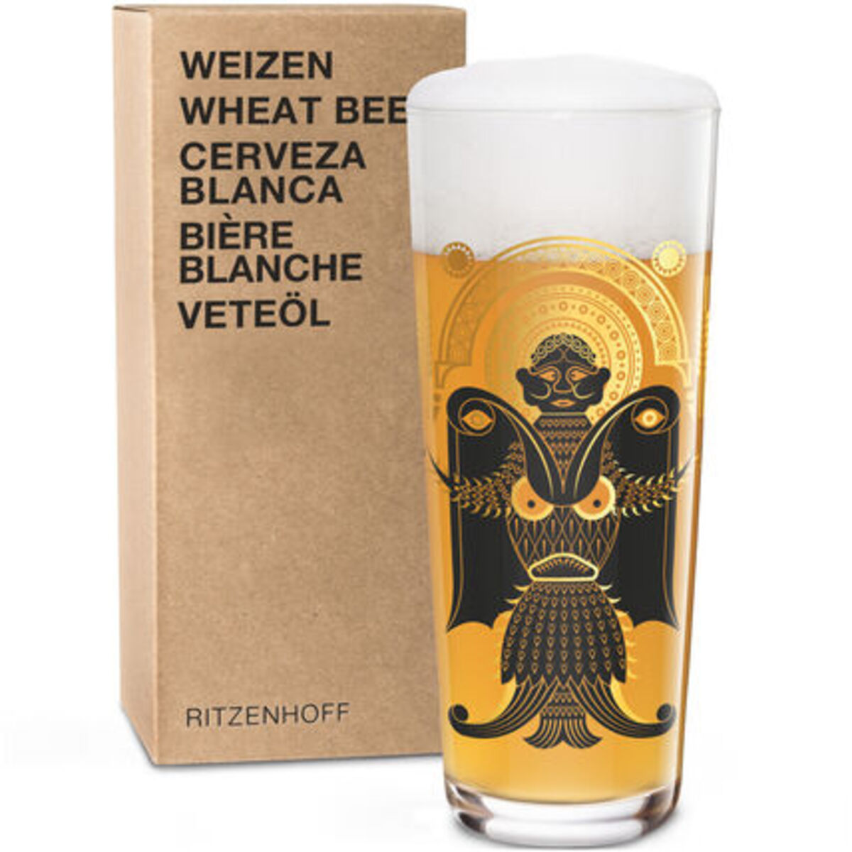 """Bild 3 von Ritzenhoff Weizenbierglas """"Next"""" Christian Montenegro"""