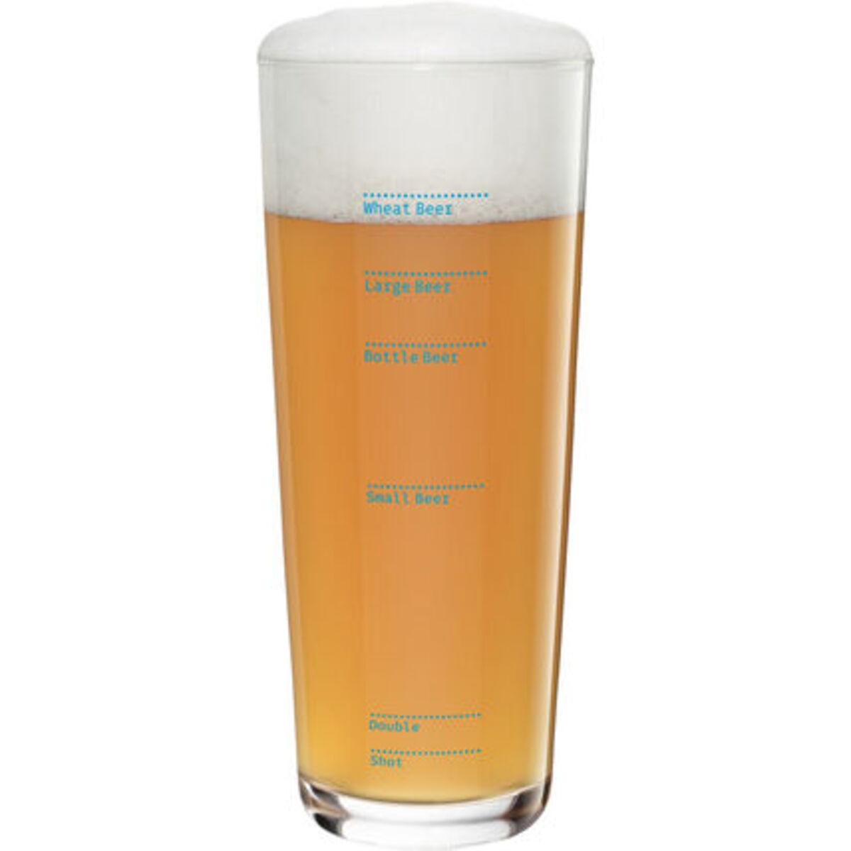 """Bild 1 von Ritzenhoff Weizenbierglas """"Next"""" Erik Spiekermann"""