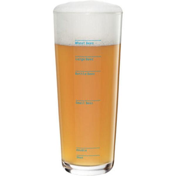 """Ritzenhoff Weizenbierglas """"Next"""" Erik Spiekermann"""
