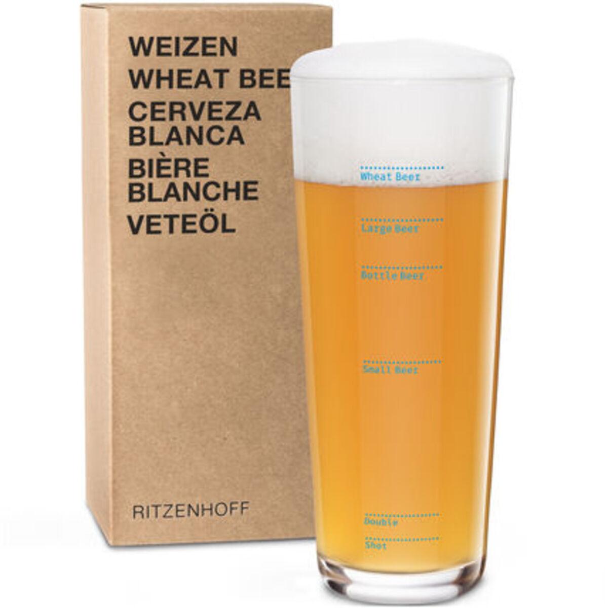 """Bild 3 von Ritzenhoff Weizenbierglas """"Next"""" Erik Spiekermann"""