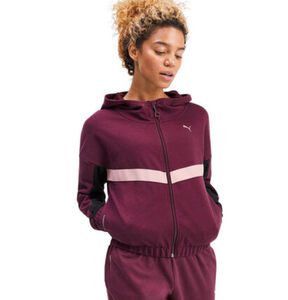"Puma Trainingsjacke ""HIT Feel It Sweat Jacket"", für Damen"