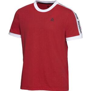 Reebok T-Shirt, Label-Schriftzüge, Logo-Print, für Herren