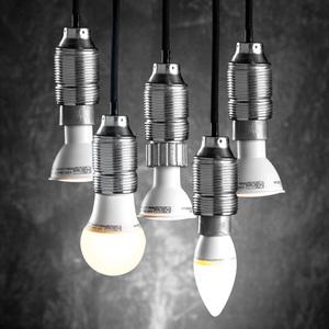 I-Glow LED-Leuchtmittel 5er-Set