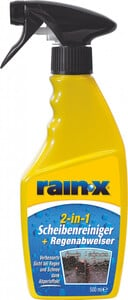 Rain X 2in1 Scheibenreiniger & Regenabweiser, 500 ml
