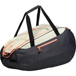 Tennistasche 500 S Schlägertasche grau/weiß/koralle