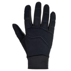 Rugby-Handschuhe R500 Winter Kinder schwarz