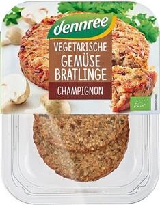 dennree Vegane Gemüse-Bratlinge