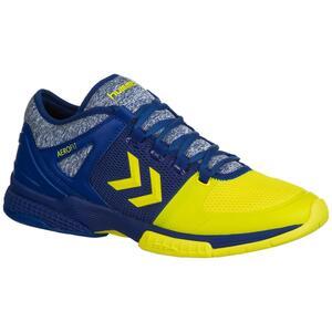 Handballschuhe Aerocharge HB200 Speed 3.0 blau/gelb