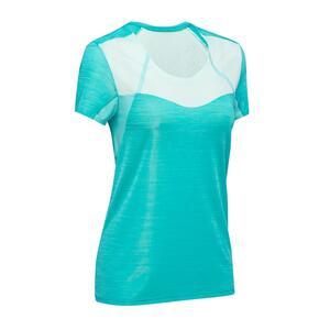 Speed-Hiking-Shirt FH500 Helium Damen türkis