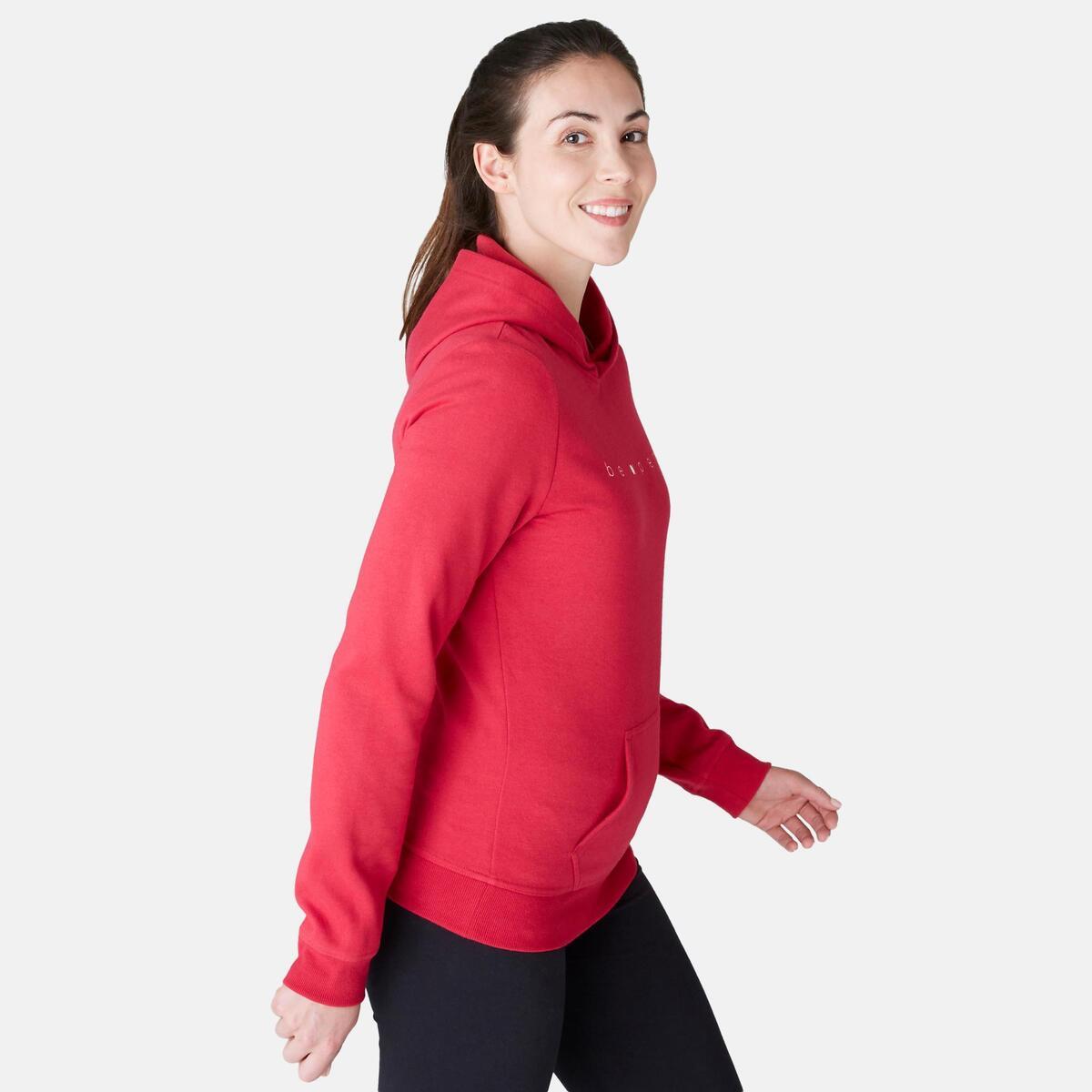 Bild 1 von Kapuzenpullover 520 Pilates sanfte Gymnastik Damen rot