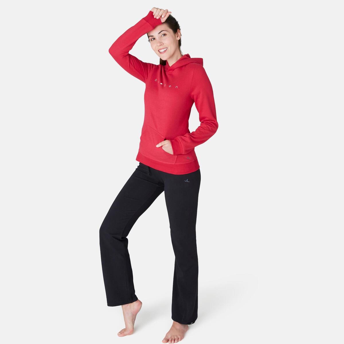 Bild 3 von Kapuzenpullover 520 Pilates sanfte Gymnastik Damen rot