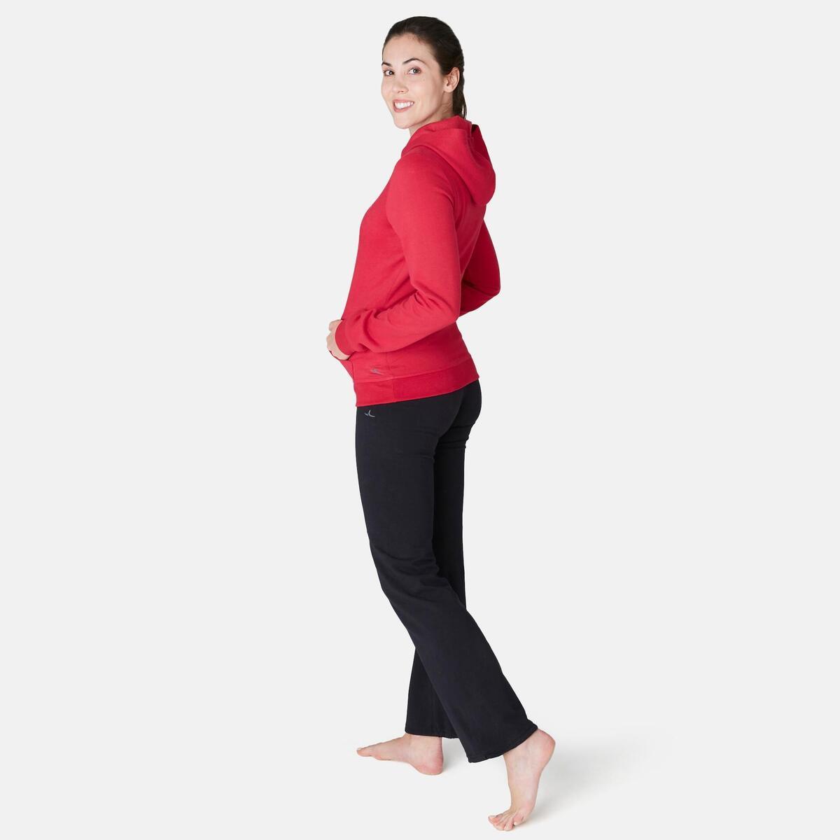 Bild 4 von Kapuzenpullover 520 Pilates sanfte Gymnastik Damen rot