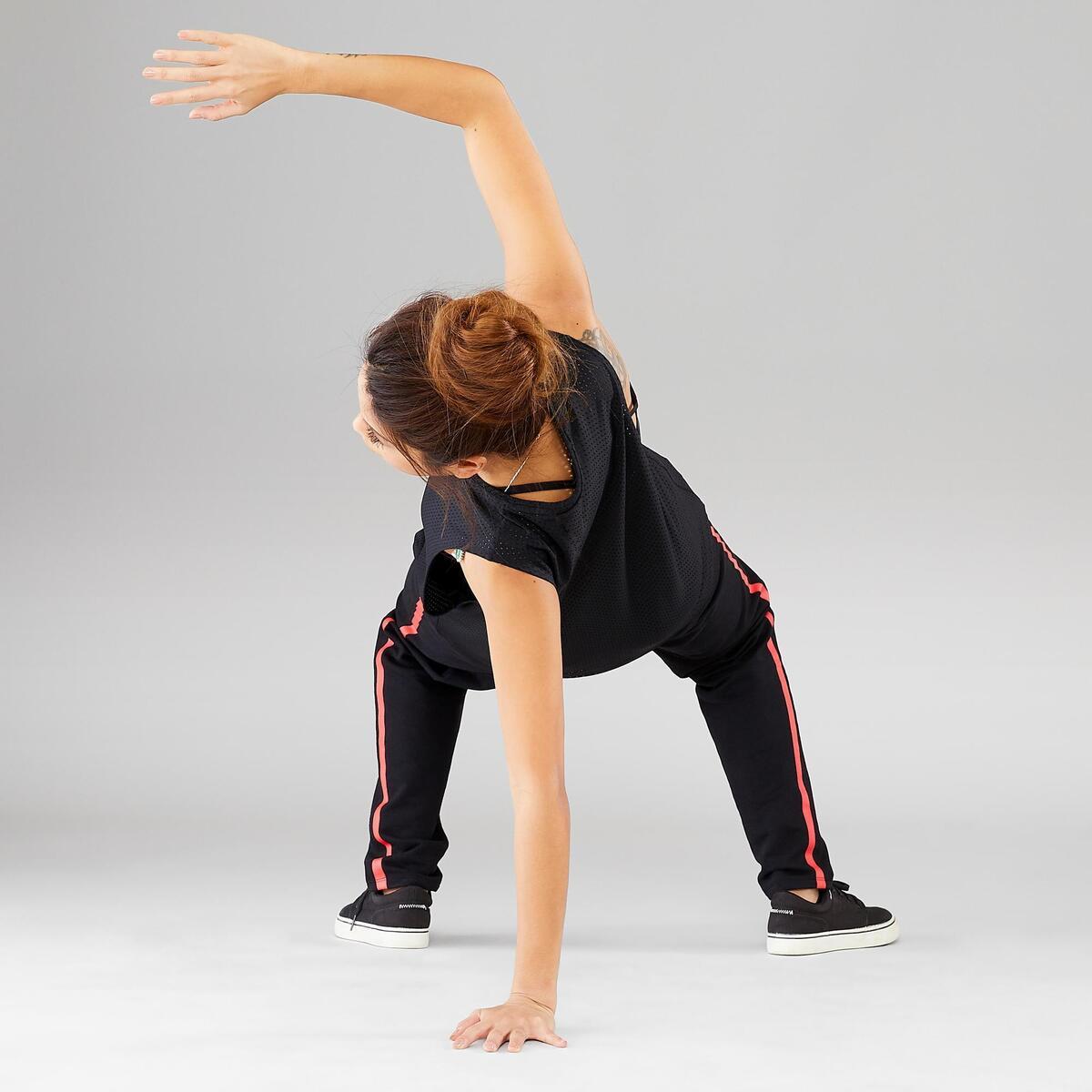 Bild 4 von Top Street Dance Damen extrem atmungsaktiv schwarz