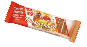 Dr. Balke  Knuspermüsli Fruchtschnitten 100 g + 20% gratis