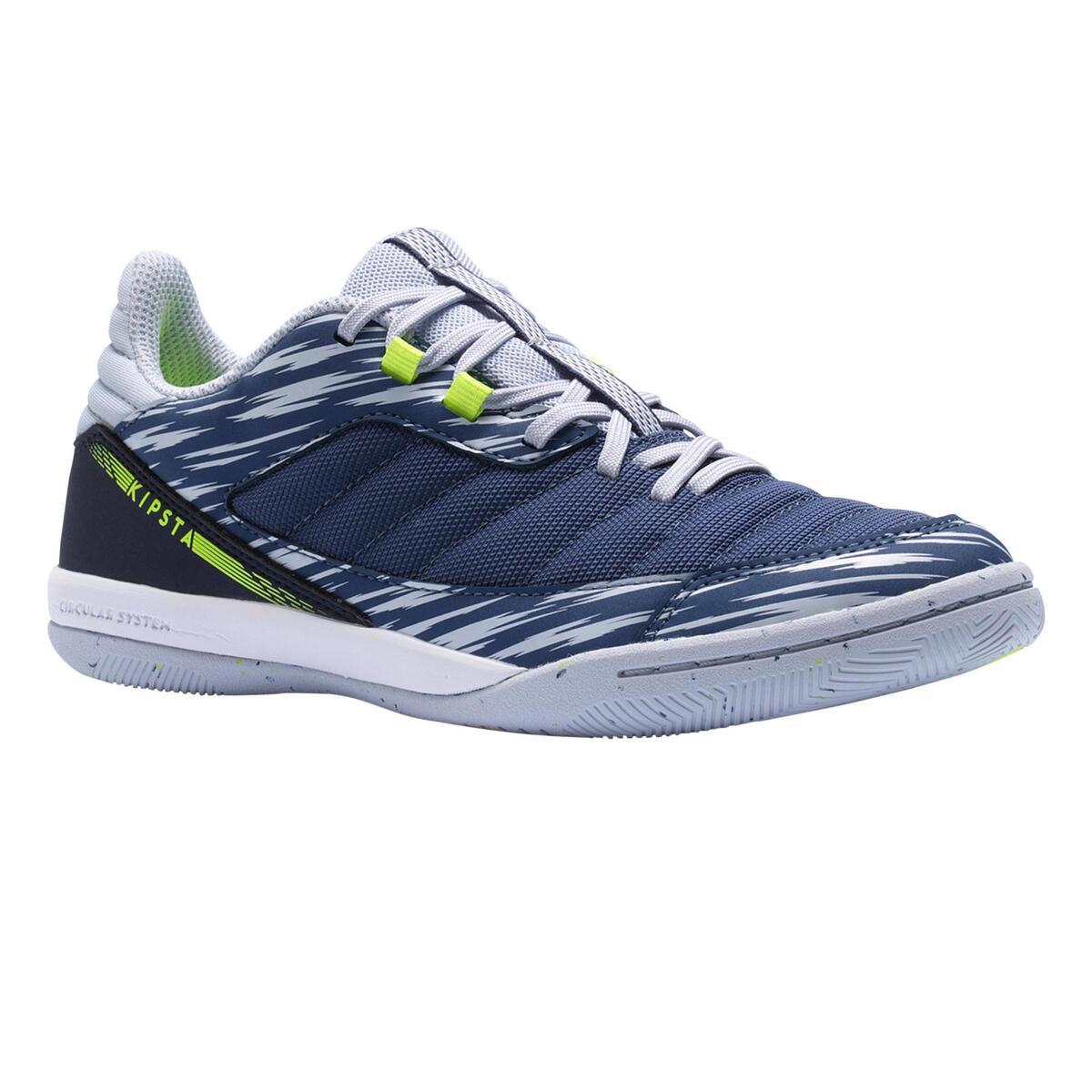 Bild 1 von Hallenschuhe Eskudo 500 Futsal Kinder blau/grau