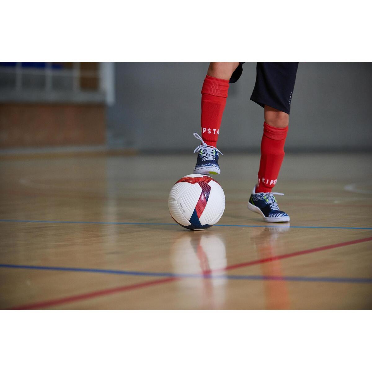 Bild 3 von Hallenschuhe Eskudo 500 Futsal Kinder blau/grau