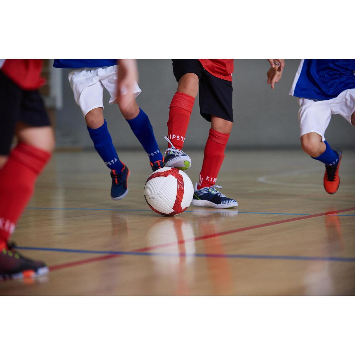 Bild 4 von Hallenschuhe Eskudo 500 Futsal Kinder blau/grau
